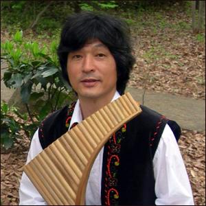 大束晋 パンフルート奏者