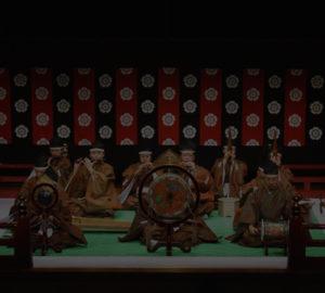 しのばず雅楽会 秋篠宮両殿下・オランダ大使御夫妻 御前演奏やASEAN諸国防衛当局次官級会合前夜夕食会での演奏などの実績があります。