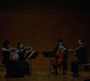 WAO弦楽四重奏団 秋篠宮両殿下の御前演奏などの優れた実績があります。