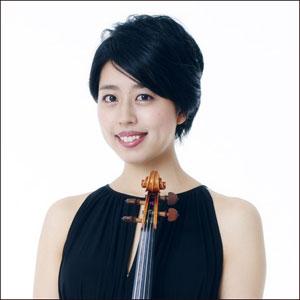 中西里栄 女性バイオリン奏者