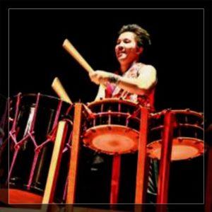 峰岸晢 和太鼓奏者