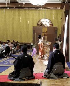 外資系企業ご縁戚での日本舞踊