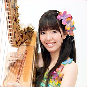 金子芽生 アルパ(パラグアイ・ハープ)奏者